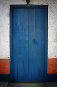 Old Doors Photos - Blue Door Three by Shane Rees