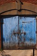 Blue Doors Print by Bob Whitt