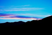 Landscape Framed Prints Prints - Blue Evening Print by Kevin Bone