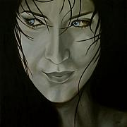 Jindra Noewi Originals - Blue-eyed girl by Jindra Noewi