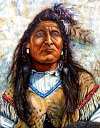 Native Americans Originals - Blue Eyes by Amanda  Stewart