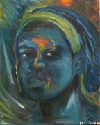 Carmel Joseph - Blue Face