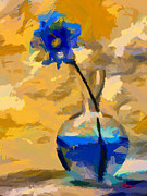 Vincent DiNovici - Blue Flower TNM
