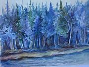 Anna  Duyunova - Blue Forest