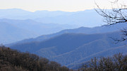 Gatlinburg Tennessee Prints - Blue Haze Print by Shana Smith
