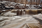 Cvnp Prints - Blue Hen Falls Cascade Print by Jennifer Grover