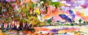 Ginette Fine Art LLC Ginette Callaway - Blue Heron Paradise