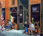 American Eagle Paintings - Blue Highways by Victor Zucconi