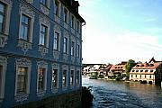Bamberg Photos - Blue House - Bamberg by Christiane Schulze