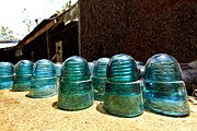 Wild West Originals - Blue Insulator  by James Steele