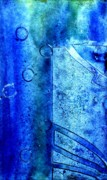 Dance Mixed Media - Blue IV by John  Nolan