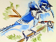 Mary Jo Beranek - Blue Jay Pair