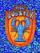 Market Mixed Media - Blue Lobster by Dancin Artworks