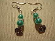Silver Turquoise Jewelry Originals - Blue Made with Love by Jenna Green