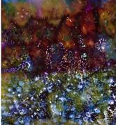Gleaming Mixed Media - Blue Marmalade by Don  Wright