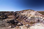 Petrified Forest National Park Prints - Blue Mesa Overlook Print by Adam Jewell