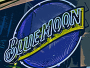 Beer Photo Originals - Blue Moon 2 by Bill Owen