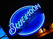 Blue Moon Photos - Blue Moon by Elizabeth Hoskinson