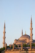 Religious Structure Prints - Blue Mosque in Istanbul Print by Artur Bogacki