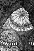 Leslie Leda Prints - Blue Mosque Print by Leslie Leda