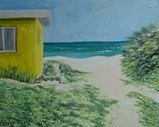Emerald Coast Originals - Blue Mountain Beach c1950 by John Terry
