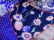 Quilt Art Photos - Blue on Blue by Bonnie Bruno