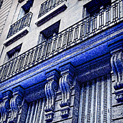 TONY GRIDER - Blue Paris Lights