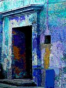 Michael Metal Prints - Blue Passage by Michael Fitzpatrick Metal Print by Olden Mexico