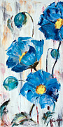 Sharon Sieben - Blue Poppies