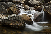 Waterfall Prints - Blue RIdge Cascade Print by Andrew Soundarajan