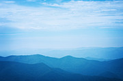 Blue Photos - Blue Ridge Mountains by Kim Fearheiley