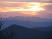 April Camenisch - Blue Ridge Sunset