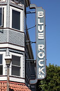 Larkspur Posters - Blue Rock Inn - Larkspur California - 5D18498 Poster by Wingsdomain Art and Photography
