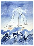 B L Qualls - Blue Sea and Sail