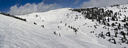 Blue Sky Basin Panorama - Vail Colorado Print by Brendan Reals