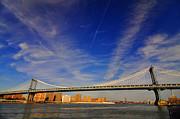 Mark Gilman - Blue Sky Over The Manhattan Bridge