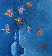 Maya Manolova - Blue still life