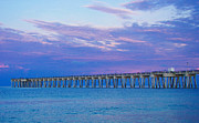 Panama City Beach Photo Originals - Blue Sunrise by Susan Medeiros
