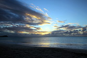 Beach Photography Originals - Blue Sunset by Sophie Vigneault