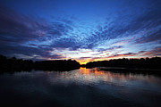 Wisconsin Photos - Blue sunset by Ty Helbach
