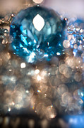 Jeweler Photos - Blue Topaz. Spirit of Treasure by Jenny Rainbow