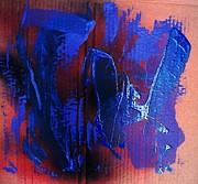 Bruce Painting Originals - Blue Tornado by Bruce Combs - REACH BEYOND