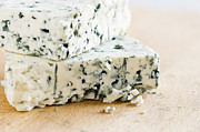 Blue Cheese Prints - Blue-veined Cheese Print by Igor Kislev