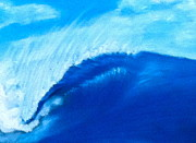 Wash Pastels - Blue Wave by Alec  Pydde
