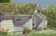 Architecture Pastels - Blue Willow MIL by Mary McInnis