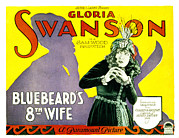 Swanson Photo Framed Prints - Bluebeards Eigth Wife, Gloria Swanson Framed Print by Everett