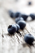 Antioxidant Framed Prints - Blueberries Framed Print by Kati Molin
