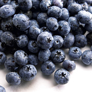 Healthy Eating Art - Blueberries by Slivinski Photo