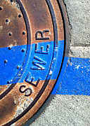 Casa Grande Photos - Bluer Sewer Three by Marlene Burns