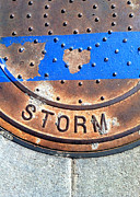 Casa Grande Photos - Bluer Sewer Two by Marlene Burns